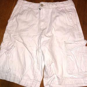 Men's white shorts